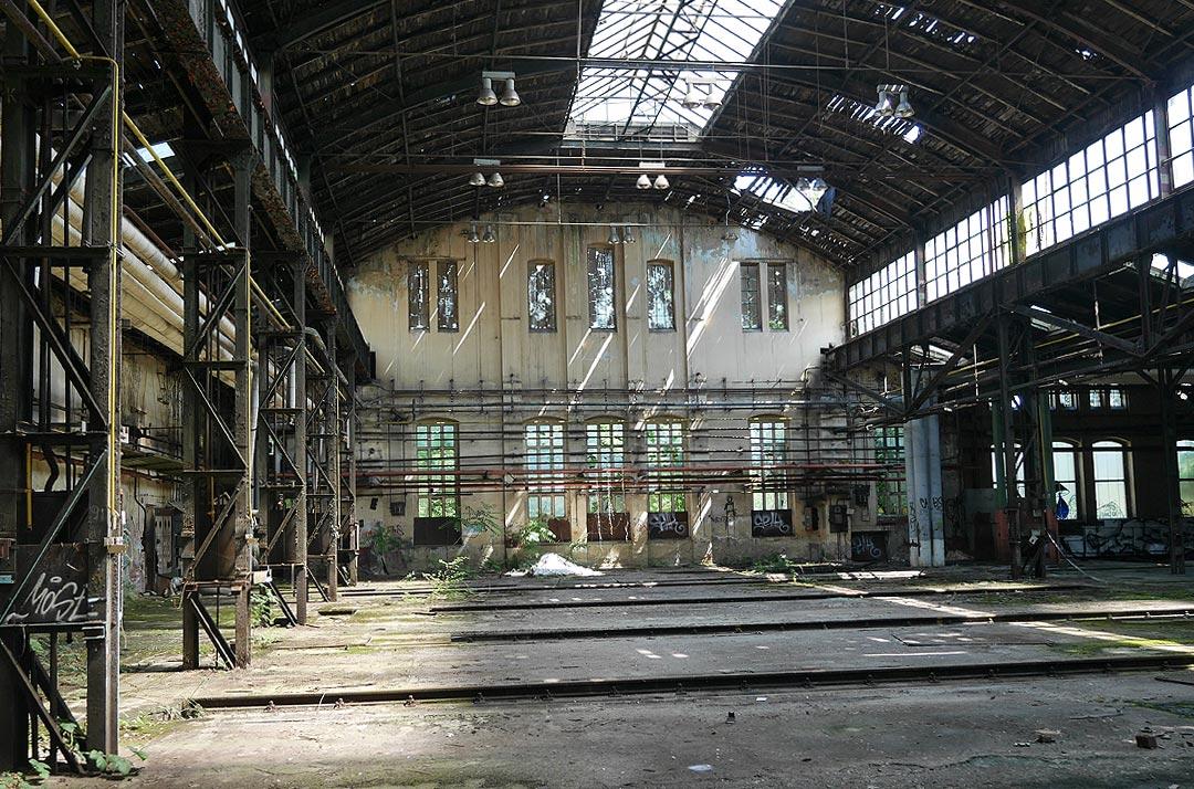 Machbarkeitsstudie Reichsbahnausbesserungswerk Halle